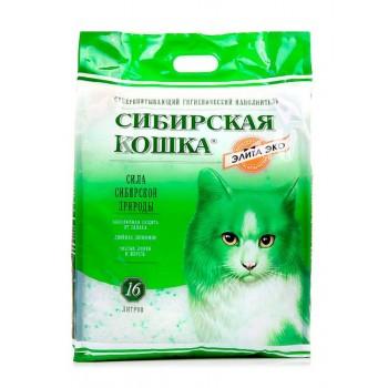 Сибирская Кошка Элита ЭКО 24л (зеленые гранулы)