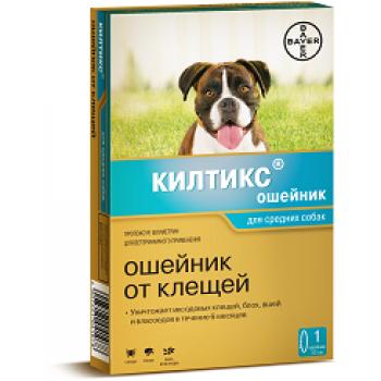Килтикс (Байер) ошейник 53 см для собак средних пород