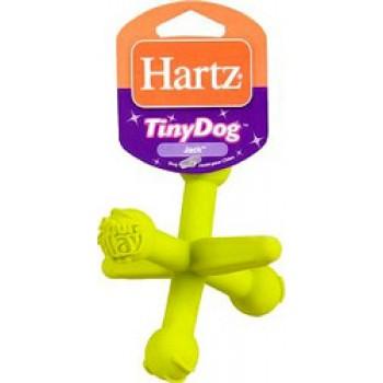 Hartz / Хартц Игрушка д/собак - Крестовина, латекс, Tiny Dog Jack Dura Play dog toy