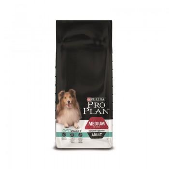 """Pro Plan / Про План """"Adult Digestion""""для собак с чувствительным пищеварением Ягненок с Рисом 14 кг"""