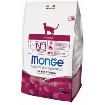 Monge / Монж Cat Indoor корм для домашних кошек 400г