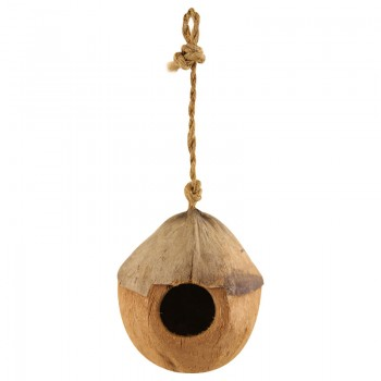 Triol / Триол CN01 Домик для птиц из кокоса, 100-130мм