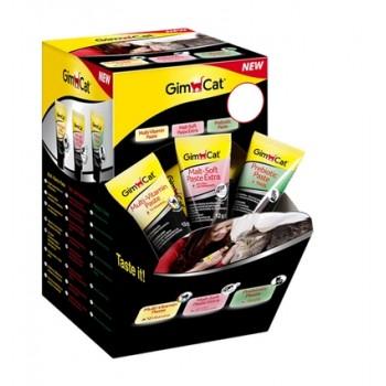Gimcat / ГимКэт Диспенсер с Функциональными пастами в Мини-упаковках (микс 42 шт.)