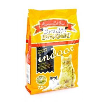 Frank's ProGold / Франкс ПроГолд для домашних и кастрированных кошек (Indoor 28/14) 7,5 кг