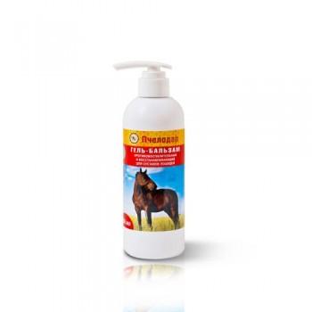 Пчелодар Гель-бальзам противовоспалительный и восстанавливающий для суставов лошадей 200 мл.