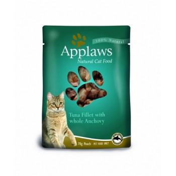 Applaws / Эпплаус паучи для кошек с Тунцом и Анчоусами 0,07 кг