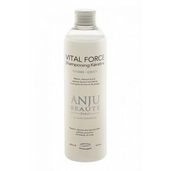 Anju Beaute Шампунь Кератиновый для восстановления и увлажнения поврежденной шерсти (Vital Force Shampooing Keratine) AN400