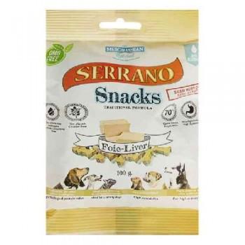 Serrano / Серрано Snacks Лакомство с Печенью, снеки для Собак с высокой активностью 100 гр