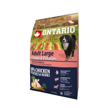 Ontario / Онтарио для собак крупных пород с курицей и картофелем 2,25 кг