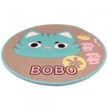 Bobo / Бобо Коврик для собак и кошек 80 см, кот, бежевый