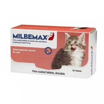 Мильбемакс (Еланко) антигельминтик для котят и молодых кошек 2 таб.