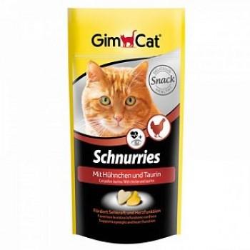 """Gimcat / ГимКэт Лакомство витаминиз. """"Сердечки"""" с курицей и таурином д/кошек, 40 г"""