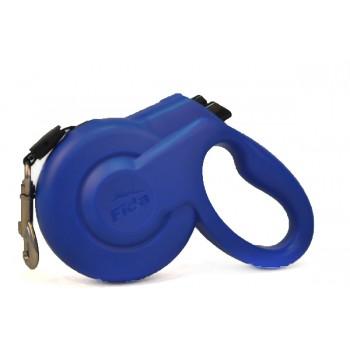 Fida / Фида Styleash Стильная рулетка 5м с выдвижным шнуром для собак средних пород до 25 кг голубая 5135624