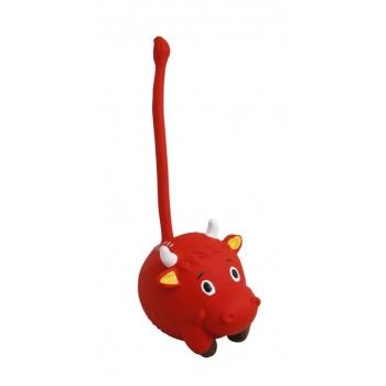 """Ziver / Зивер Игрушка """"Бык красный с хвостом"""" 21 см., красный"""