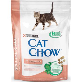 """Cat Chow / Кэт Чоу """"Special Care"""" сухой 400 гр для кошек с чувствительным пищеварением"""