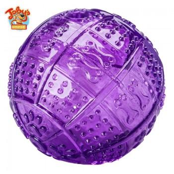 """Kitty City Игрушка для собак """"Мяч для развлечения и угощения"""", 8,2 см(Toby's Choice Treat Ball)"""