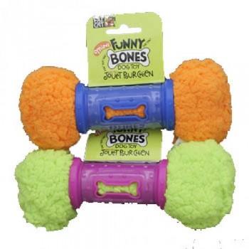 Fat Cat Игрушка д/собак - Забавная косточка, маленькая, мягкая,, Mini Funny Bones Dog Toy (630026)