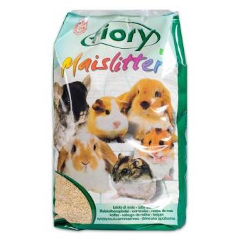 Fiory / Фиори наполнитель кукурузный для грызунов Maislitter 5 л