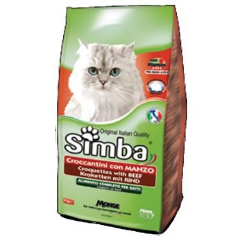 Simba / Симба Cat корм для кошек с говядиной 400 г