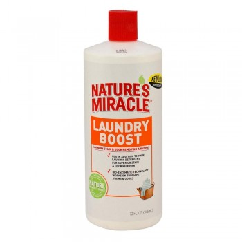 8in1 средство для стирки NM Laundry Boost для уничтожения пятен, запахов и аллергенов 945 мл