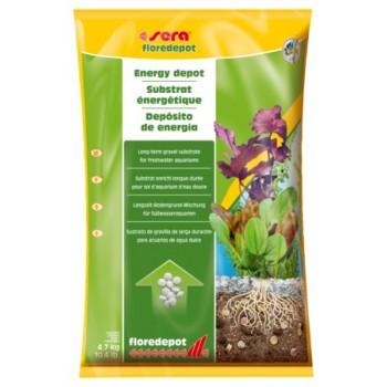 Sera / Сера Грунт для растений FLOREDEPOT 4,7 кг /пакет/