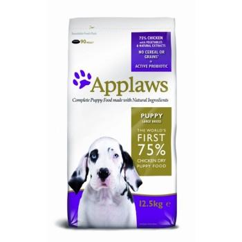 "Applaws / Эпплаус для щенков крупных пород ""Курица/Овощи: 75/25%"" 7,5 кг"