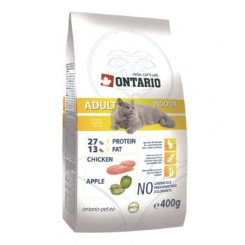 Ontario / Онтарио для домашних кошек с цыпленком 0,4 кг