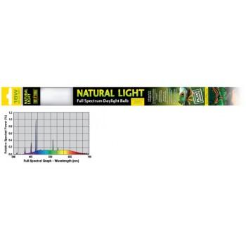 Exo Terra / Экзо Терра Лампа для террариума Т8 EX Natural Light former UVB2.0 18W. PT2376