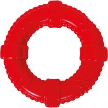 """Игрушка """"Грызлик Ам"""" Кольцо Аmfibios Размер 13 см, Цвет Красный, Материал ТPR, без звука, плавает"""