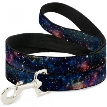 Buckle-Down / Бакл-Даун Галактика мультицвет поводок 120 см