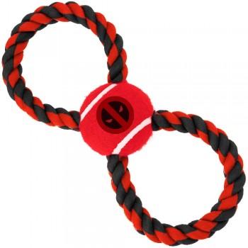 Buckle-Down / Бакл-Даун Дэдпул красный цвет мячик на верёвке