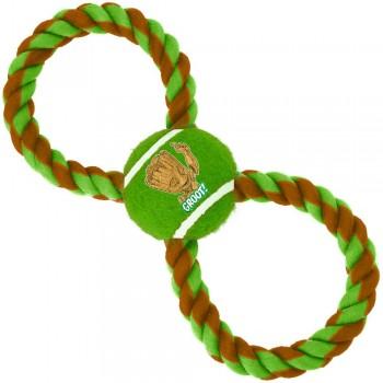 Buckle-Down / Бакл-Даун Грут зелёный цвет мячик на верёвке