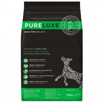 PureLuxe / Пурелюкс для активных собак с индейкой и лососем, 400г
