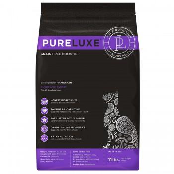 PureLuxe / Пурелюкс для взрослых кошек с индейкой, 5 кг