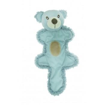 Aromadog / Аромадог Игрушка для собак Мишка с хвостом 25 см голубой