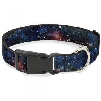 Buckle-Down / Бакл-Даун Галактика мультицвет ошейник с пластиковой застёжкой 28-43 см