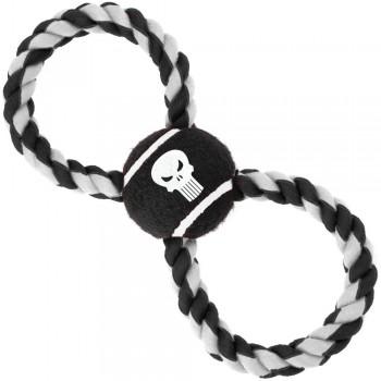 Buckle-Down / Бакл-Даун Каратель чёрный цвет мячик на верёвке
