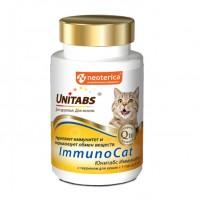 Unitabs / Юнитабс ImmunoCat с Q10 Витамины д/кошек с Таурином 120 таб