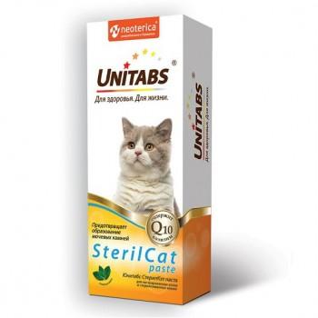 Unitabs / Юнитабс SterilCat Паста для кастрированных котов и стерилизованных кошек 150 гр