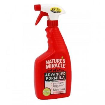 Nature's Miracle Уничтожитель пятен и запахов с усиленной формулой для собак, спрей NM ADV Dog Stain&Odor Elimin Spray, 946 мл