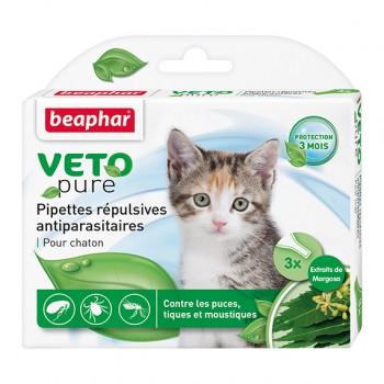 Beaphar / Беафар Капли «Био» от блох и клещей д/котят, 3 пипетки