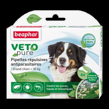 Beaphar / Беафар Капли «Био» от блох и клещей д/собак крупных пород, 6 пипеток