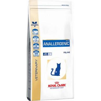 Royal Canin / Роял Канин VD Anallergenic для кошек при пищевой аллергии или непереносимости с ярко выраженной гиперчувствительностью 2 кг