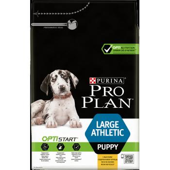 """Pro Plan / Про План """"Puppy Large Athletic"""" с комплексом OPTISTART сухой для щенков крупных пород от 25 кг c атлетическим телосложением Курица 3 кг"""