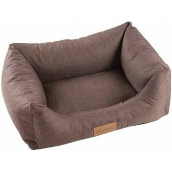 Katsu / Катсу SOFA LEN 80х60х25 см размер M лежак для животных коричневый