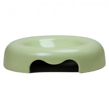 United Pets миска Kitty-Cat, 120мл, зеленая