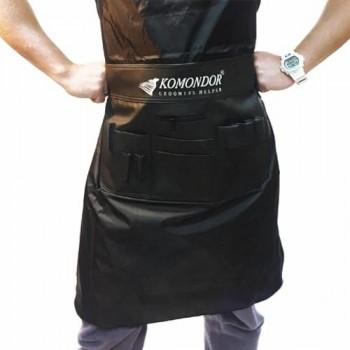 Komondor Пояс-фартук черный, длина талии от 60 до 90 см