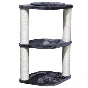 Pet Choice / Пет Чойс Когтеточка-лежак 46х30х65, серый