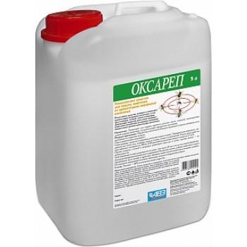 АВЗ ОКСАРЕП для животных репеллентное средство для защиты от кровососущих двукрылых насекомых, 5 л