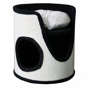 Pet Choice / Пет Чойс Когтеточка-домик 40х40х45, черный